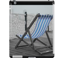 Lonely seat iPad Case/Skin