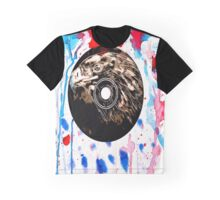 Red White and Blue Bird  Graphic T-Shirt