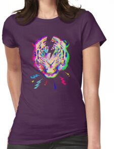 Psychedelic point of view Womens Fitted T-Shirt