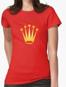Rolex king Womens Fitted T-Shirt