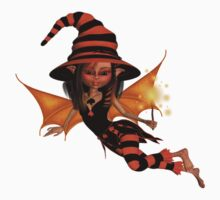 Cute Halloween Witch .. tee shirt Kids Clothes