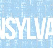 Pennsylvania Blue Sticker
