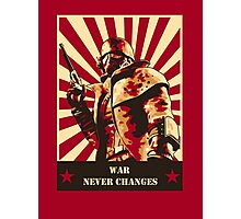 War never changes Photographic Print