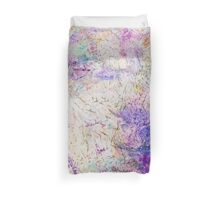 Funky abstract colorful ink design Duvet Cover