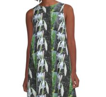 Barbados Spring Theme A-Line Dress
