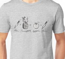 Pen Pineapple Apple Pen  Unisex T-Shirt