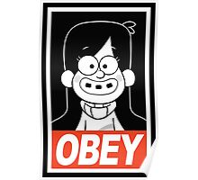 OBEY Mabel Pines Poster