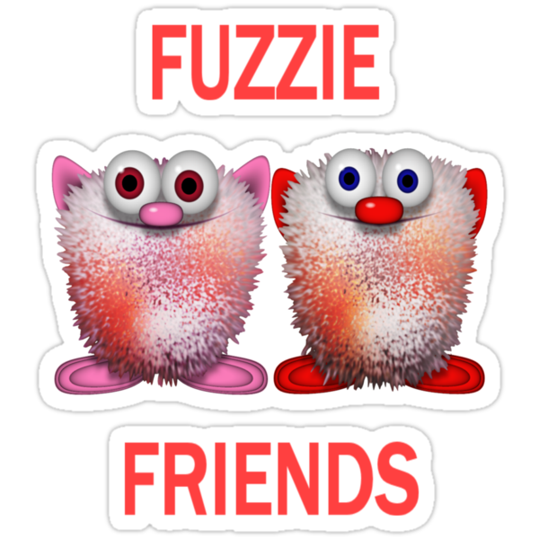 Fuzzie Friends .. Tee Shirts by LoneAngel