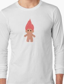 Pink Troll Long Sleeve T-Shirt