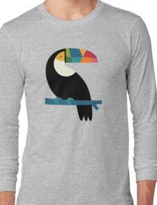 Rainbow Toucan Long Sleeve T-Shirt