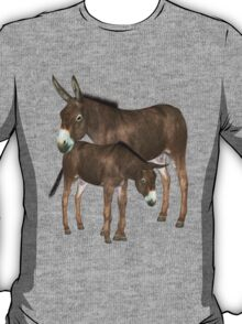 Mare and Foal .. tee shirt T-Shirt