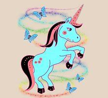 Pretty Unicorn .. tee shirt Womens Fitted T-Shirt
