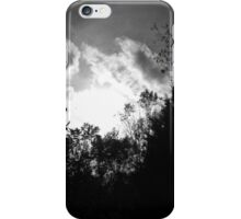 Black & White Trees iPhone Case/Skin