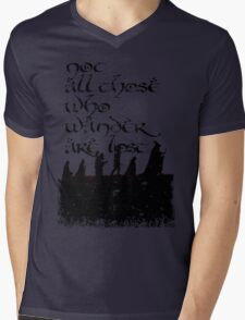 Not all those... Mens V-Neck T-Shirt