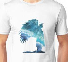 Castiel Silhouette - Ocean Unisex T-Shirt