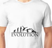 Bboying Evolution Unisex T-Shirt