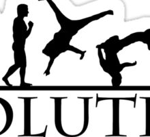 Bboying Evolution Sticker