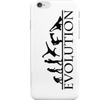 Bboying Evolution iPhone Case/Skin