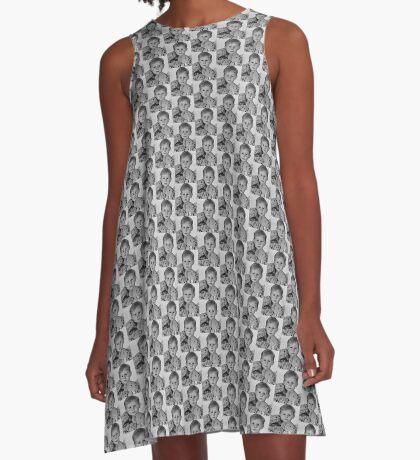 Hamish - Child Portrait A-Line Dress