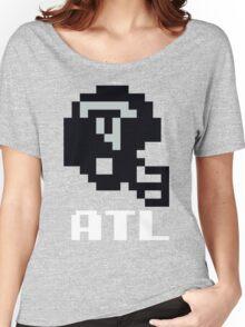 Tecmo Bowl Atlanta Falcons Football 8-Bit NES Nintendo Helmet Shirt T-shirt Women's Relaxed Fit T-Shirt