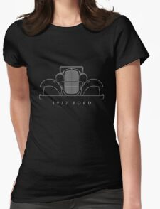 1932 Ford - Stencil Womens Fitted T-Shirt