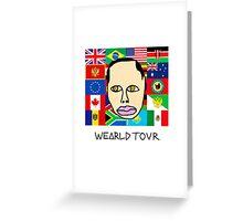 Earl Sweatshirt - Wearld Tour  Greeting Card