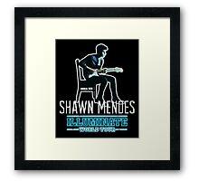 Shawn - World Tour Framed Print