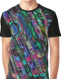 Fractal Graffiti 3 Graphic T-Shirt