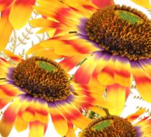 Flowers of the Sun God .. tee shirt Sticker