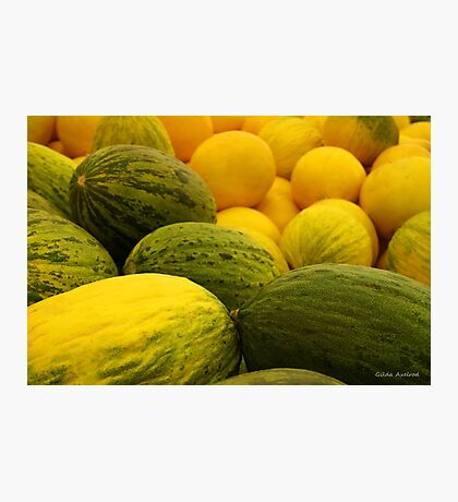 Melons Photographic Print