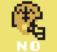 Tecmo Bowl New Orleans Saints Football 8-Bit NES Nintendo Helmet Shirt T-shirt Kids Tee