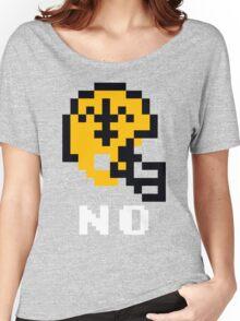 Tecmo Bowl New Orleans Saints Football 8-Bit NES Nintendo Helmet Shirt T-shirt Women's Relaxed Fit T-Shirt