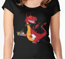 Dragon Waiter Women's Fitted Scoop T-Shirt