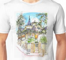 House with Turrets Unisex T-Shirt