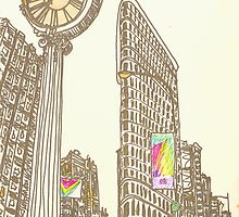 the flatiron building by purplestgirl