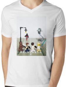 Rebel road Mens V-Neck T-Shirt