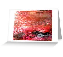 Warmth of Sky Greeting Card