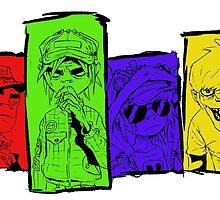 Gorillaz - Full Band by CreatedByImrie