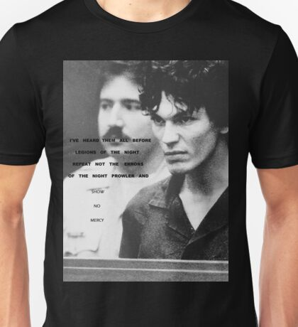 Richard Ramirez - Legions of the Night Unisex T-Shirt