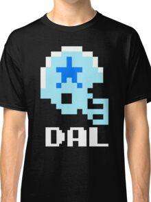Tecmo Bowl Dallas Cowboys Football 8-Bit NES Nintendo Helmet Shirt T-shirt Classic T-Shirt