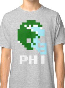 Tecmo Bowl Philadelphia Eagles Football 8-Bit NES Nintendo Helmet Shirt T-shirt Classic T-Shirt