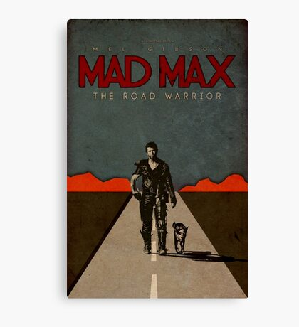 MAD MAX - The Road Warrior Custom Poster Canvas Print