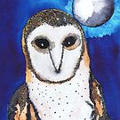 TAWNY OWL by Hares & Critters