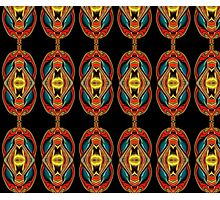 cat's eyes - the pattern Photographic Print