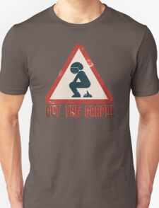 Cut The Crap - Funny Offensive T-Shirts and Gifts Unisex T-Shirt