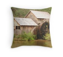 MABRY MILL - Front view ^ Throw Pillow