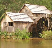 MABRY MILL - Front view ^ by ctheworld