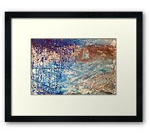 Sailing On Framed Print