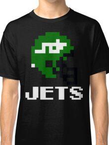 Tecmo Bowl New York Jets Football 8-Bit NES Nintendo Helmet Shirt T-shirt Classic T-Shirt
