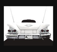 1958 Chevy Impala - high contrast Kids Tee